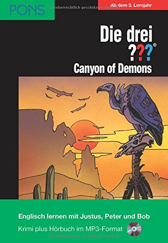 9783120100461: Die drei ??? Canyon of Demons