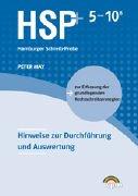 9783120101956: HSP 5-10: Die Hamburger Schreib-Probe. Hinweise zur Durchführung und Auswertung
