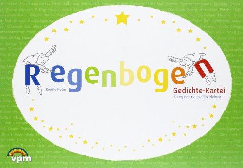 9783120105008: Regenbogen-Gedichte-Kartei I: Anregungen zum Selberdichten. Arbeitskartei