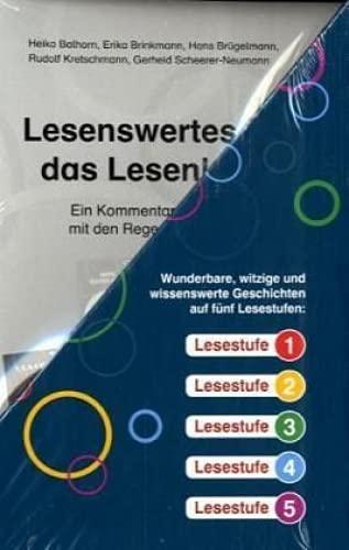 9783120105312: Regenbogen-Lesekiste I: Lesestoff fur Erstleser in 5 Stufen. 40 Buchlein a 16 Seiten u. Kommentar