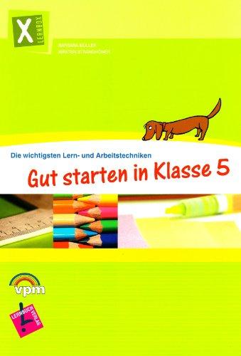 9783120112297: Lernbox Gut starten in Klasse 5: Die wichtigsten Lern- und Arbeitstechniken. Arbeitsheft