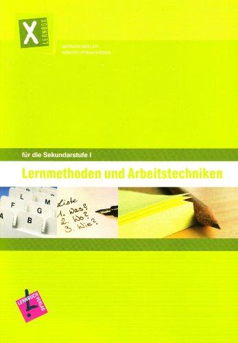 9783120112303: Lernbox Lernmethoden und Arbeitstechniken für die Sekundarstufe I. Arbeitsheft