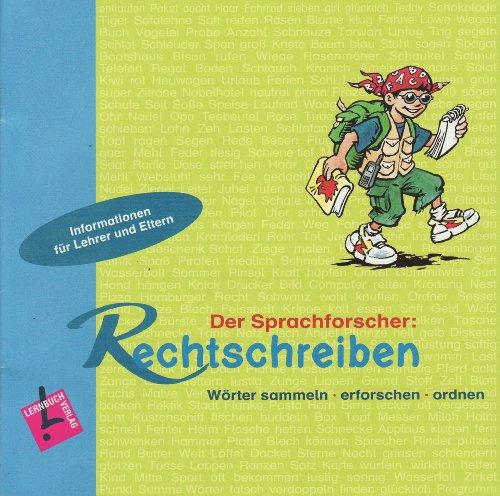 9783120112464: Der Sprachforscher: Rechtschreiben: Wörter sammeln - erforschen - ordnen. Lehrerkommentar