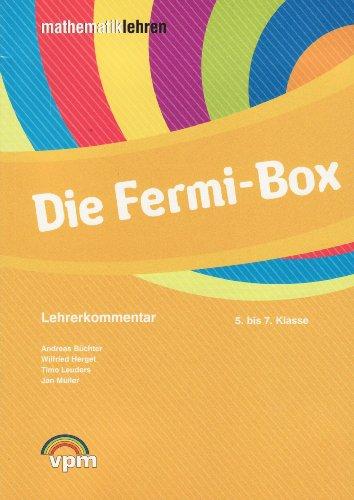9783120112792: Die Fermi-Box. 5 - 7 Schuljahr: Aufgabenkartei inkl. Lehrerkommentar