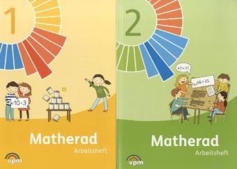9783120113423: Matherad. Arbeitshefte-Paket 1./2. Schuljahr