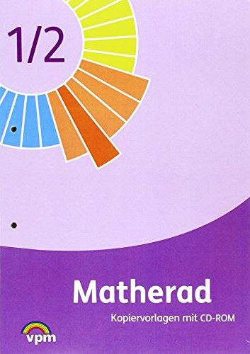 9783120113492: Matherad. Kopiervorlagen mit CD-ROM 1./2. Schuljahr