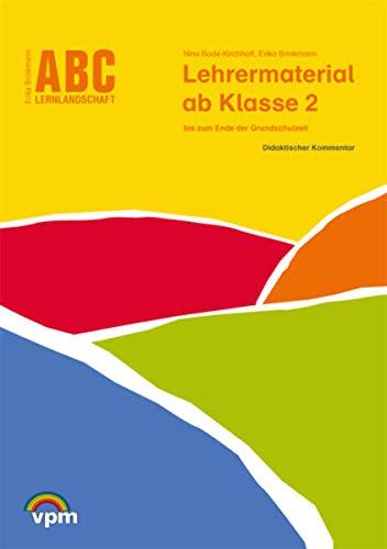 9783120114307: ABC Lernlandschaft 2+. Sprachwissen. Lehrerhandreichungen ab 2. Schuljahr