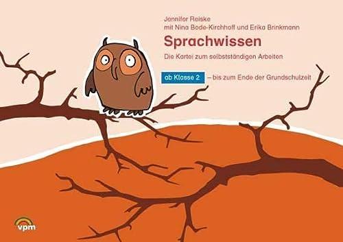9783120115014: ABC Lernlandschaft 2+. Sprachwissen - Die Kartei zum selbstständigen Arbeiten. Kartei ab 2. Schuljahr