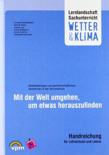 9783120117032: Lernlandschaft Sachunterricht. Wetter & Klima. Lehrerkommentar und Poster