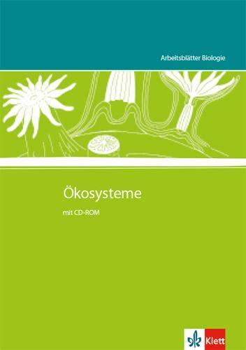 9783120301080: Arbeitsblätter Biologie. Ökosysteme. Kopiervorlagen