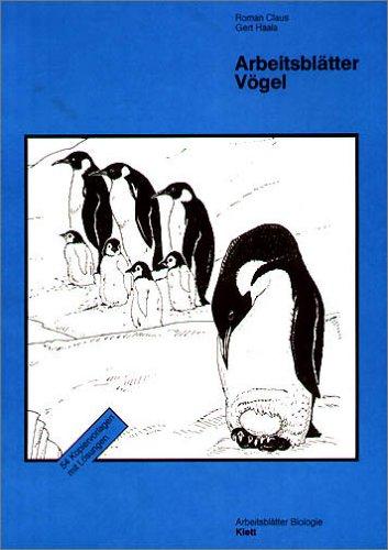 9783120309109: Arbeitsblätter Biologie (Kopiervorlagen). Vögel.