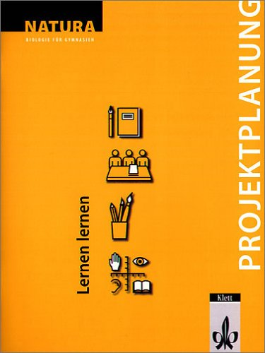9783120451044: Natura Projektplanung: Lernen lernen.