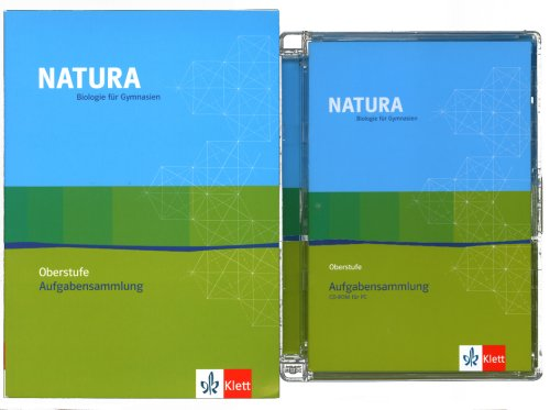 9783120453734: Natura Biologie Oberstufe. Aufgabensammlung. Buch und CD-ROM