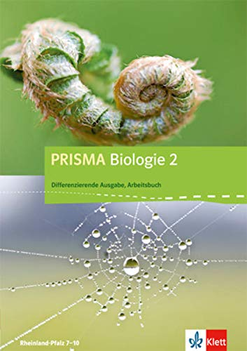 9783120683278: Prisma Biologie. Arbeitsbuch 1. 8.-9. Schuljahr. Rheinland-Pfalz - Differenzierende Ausgabe