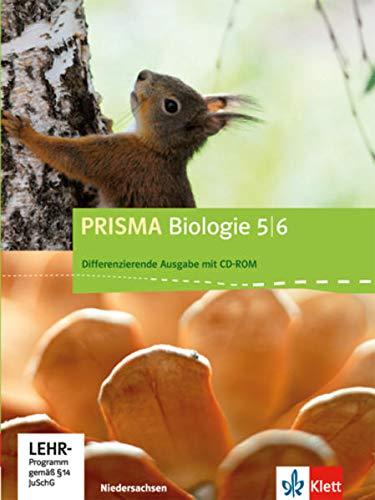 9783120683308: Prisma Biologie. Ausgabe für Niedersachsen - Differenzierende Ausgabe. Schülerbuch mit Schüler-CD-ROM 5./6. Schuljahr