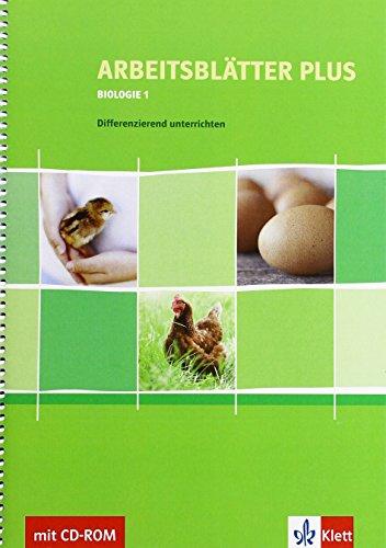 9783120684848: Arbeitsblätter PLUS Biologie 1. Differenzierend unterrichten 5./6. Schuljahr mit CD-ROM
