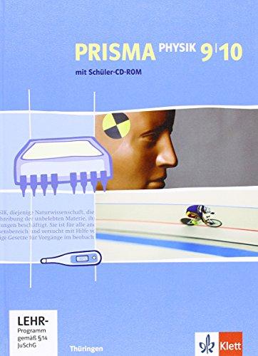 9783120688259: Prisma Physik. Schülerbuch mit Schüler-CD-ROM 9./10. Schuljahr. Ausgabe für Thüringen