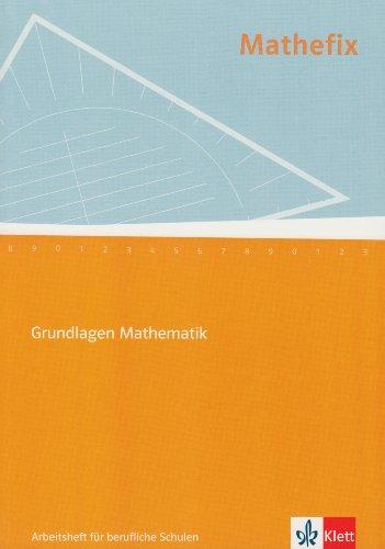 9783121038008: Mathefix. Arbeitsheft: Basiswissen Mathematik