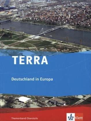 9783121041145: TERRA Deutschland in Europa.Themenband Oberstufe