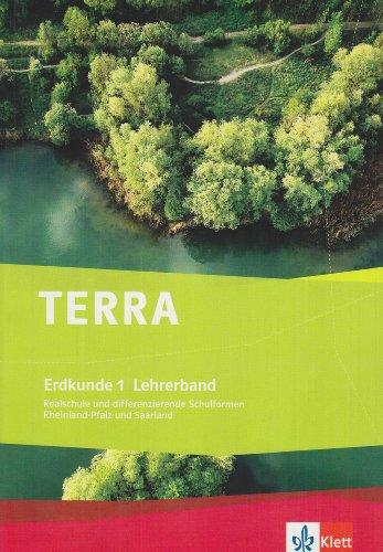 9783121043606: TERRA Erdkunde für Rheinland-Pfalz/Saarland, Ausgabe für Differenzierende Schulformen 5./6. Klasse, Lehrerband