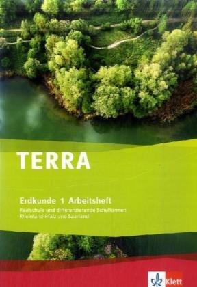 9783121043903: TERRA Erdkunde für Rheinland-Pfalz und Saarland. Realschulen und Differenzierende Schularten / Arbeitsheft 5./6. Schuljahr