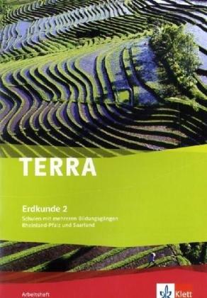 9783121043910: TERRA Erdkunde für Rheinland-Pfalz und Saarland 2. Ausgabe für Schulen mit mehreren Bildungsgängen. Arbeitsheft 7./8. Schuljahr