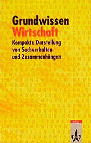 9783121404230: Grundwissen Wirtschaft. (Lernmaterialien)