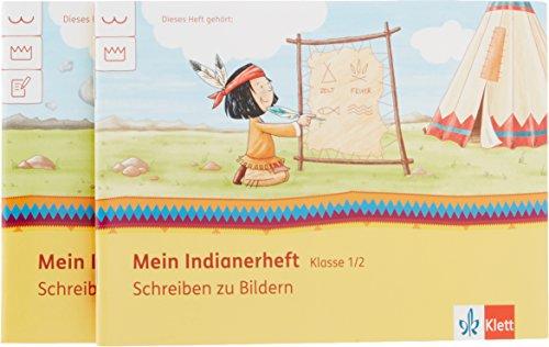9783121610242: Mein Indianerheft. Schreiben zu Bildern 1 + 2. Klasse 1/2