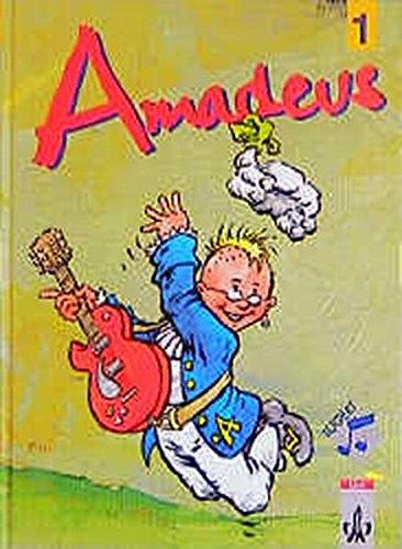 9783121701100: Amadeus 1. Schülerbuch: Unterrichtswerk für den Musikunterricht in den Klassenstufen 5 und 6. Für Grundschule, Gesamtschule und Realschule