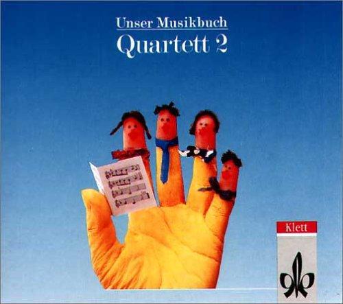 9783121725267: Unser Musikbuch, Quartett, 2. Schuljahr, 1 CD-Audio