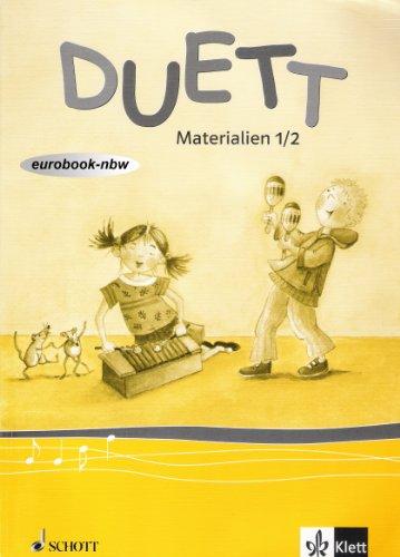 9783121728107: Duett / Materialien 1./2. Schuljahr