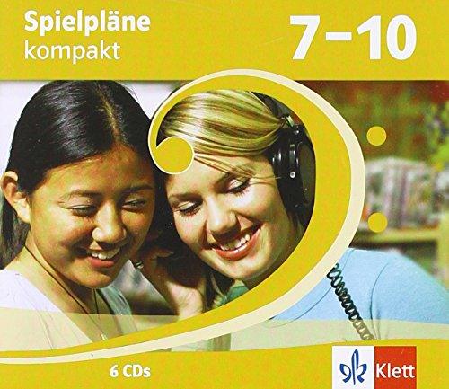 9783121750238: Spielpläne kompakt. 6 Audio-CDs