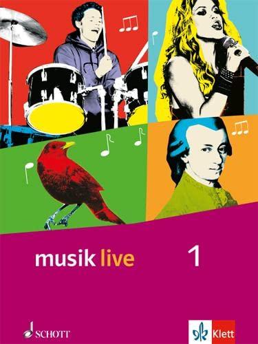 9783121770014: Musik live. Schülerbuch. Klasse 5 und 6. Allgemeine Ausgabe