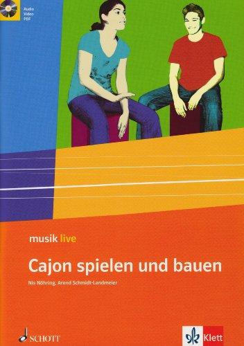 9783121770090: Cajon spielen und bauen: Themenheft für die 5.-10. Klasse mit Audio-CD