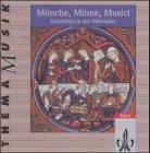 9783121790111: Thema Musik / Mönche, Minne, Musici: Themenhefte / 2 CDs