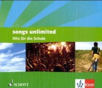 9783121829125: Songs unlimited. 98 Hits für die Schule 4 CDs