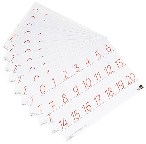 """Programm """"mathe 2000"""". Wendekarten für Schüler SAS (Schulausgangsschrift). 10er..."""