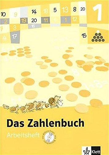 9783122004118: Das Zahlenbuch 1. Arbeitsheft mit CD-ROM. Fur Windows NT,2000,XP. Berlin, Brandenburg, Bremen, Hamburg, Hessen, Mecklenburg-Vorpommern, Niedersachsen,