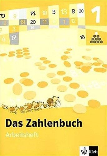 9783122004125: Das Zahlenbuch 1. Arbeitsheft. Neubearbeitung 2004. Berlin, Brandenburg, Bremen, Hamburg, Hessen, Mecklenburg-Vorpommern, Niedersachsen, ... Sachsen-Anhalt, Schleswig-Holstein, Thüringen