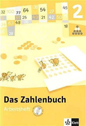 9783122004217: Das Zahlenbuch. 2.Schuljahr. Arbeitsheft mit CD-ROM (für Windows NT,2000,XP). Neubearbeitung 2004. Berlin, Brandenburg, Bremen, Hamburg, Hessen, ... Sachsen-Anhalt, Schleswig-Holstein, Thüringen