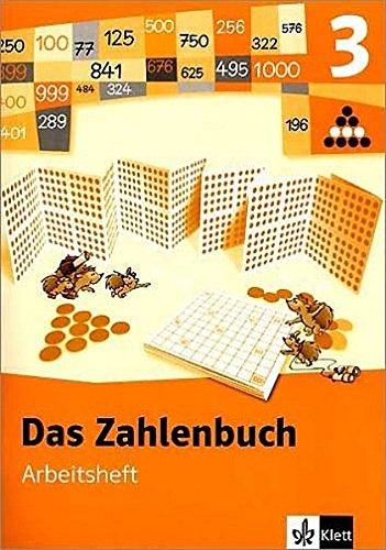 9783122004323: Das Zahlenbuch 3. Arbeitsheft. Neubearbeitung.Brandenburg, Berlin, Bremen, Hessen, Mecklenburg-Vorpommern, Niedersachsen, Nordrhein-Westfalen, ... Sachsen, Sachsen-Anhalt, Thüringen
