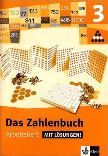 9783122004361: Das Zahlenbuch 3. Arbeitsheft mit Lösungen. Neubearbeitung: Lehrermaterial