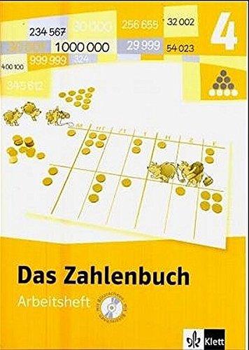 9783122004415: Das Zahlenbuch 4. Arbeitsheft mit CD-ROM. Neubearbeitung. Für Windows. Berlin, Brandenburg, Bremen, Hamburg, Hessen, Mecklenburg-Vorpommern, Nieder