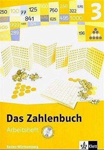 9783122006310: Das Zahlenbuch 3. Arbeitsheft mit CD-ROM. Neubearbeitung. Baden-Württemberg