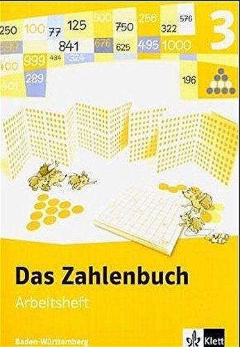 9783122006327: Das Zahlenbuch 3. Arbeitsheft. Neubearbeitung. Baden-Württemberg
