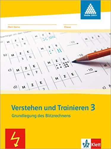 9783122009373: Mathe 2000. Verstehen und Trainieren. Schülerarbeitsheft 3. Schuljahr