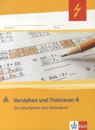 9783122009380: Mathe 2000. Verstehen und Trainieren. Schülerarbeitsheft 4. Schuljahr