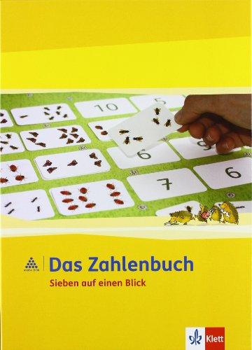 9783122009397: Das Zahlenbuch. Sieben auf einen Blick. Kartenspiele und Lehrpläne 1./2. Schuljahr: Lernspiele zur strukturierten Anzahlerfassung