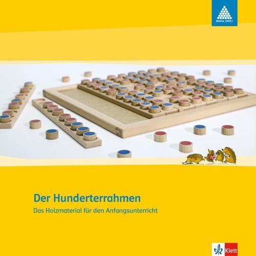 Mathe 2000. Das Zahlenbuch. Der Hunderterrahmen: Das Holzmaterial für den Anfangsunterricht