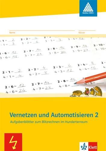 9783122010164: Vernetzen und Automatisieren. Schülerarbeitsheft 2. Schuljahr